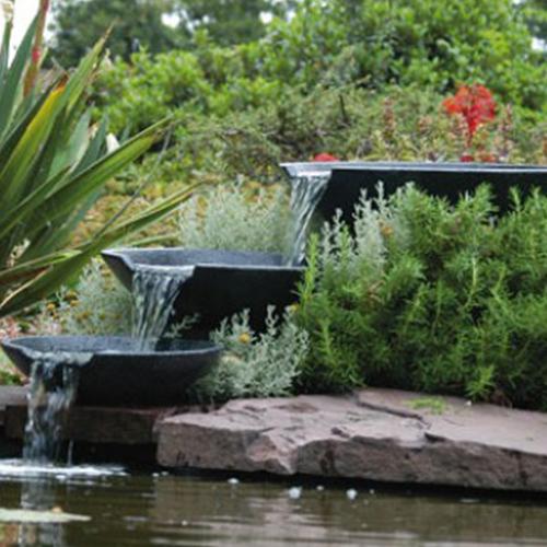 dammar vattenfall fontäner