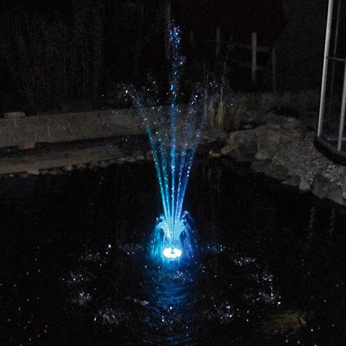 Kanon Aqualight LED-ring 48 färg   Granskattehults Damm- och FS-65