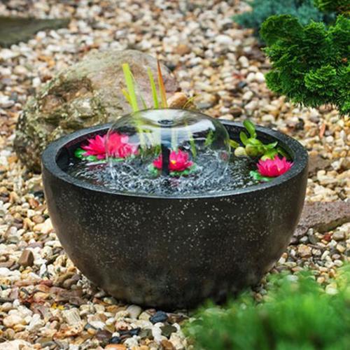 Nya Fontän för trädgård | Trädgårdsfontän och springvattenset för damm KA-64